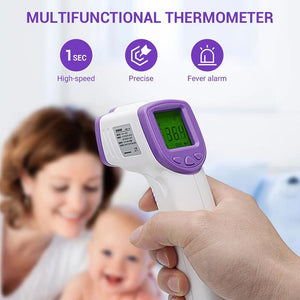 Infrared Thermometer Portable Digital Forehead Temperature (4643119792213)