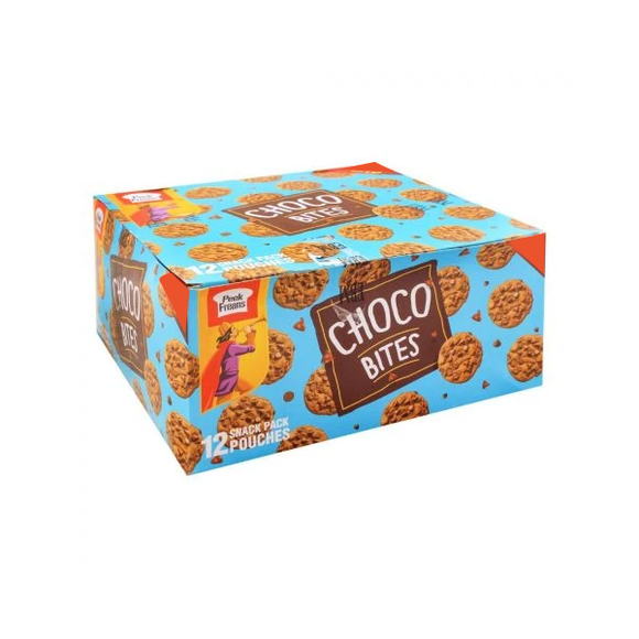 Peek Freans Choco Bites Double Biscuits, 12 Snack Pack Pouch (4763839791189)