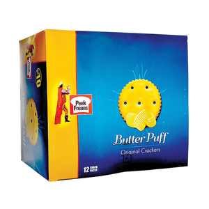 Pack of 12 Peek Freans Butter Puff Snack Pack (4613477990485)