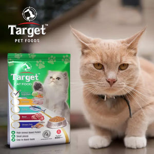 Target Cat Food-Chicken&Vegetable-500gms (4636138111061)