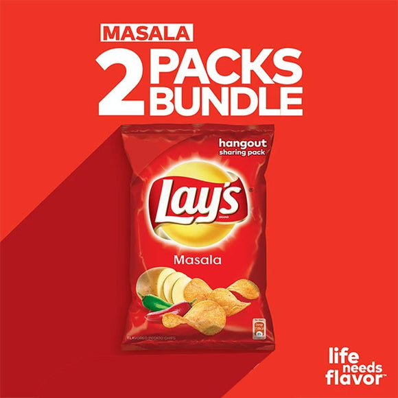 Pack Of 2 Lay's Masala 65 gm