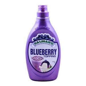 Salman Topping Blueberry 623g