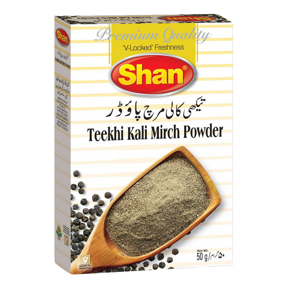 Shan Teekhi Kali Mirch Powder 50g (4707076505685)