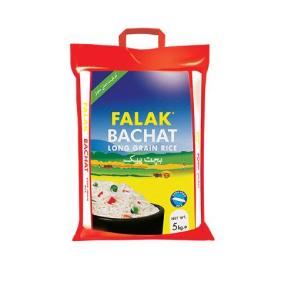 Falak Bachat Long Grain Rice 5kg (4736264994901)