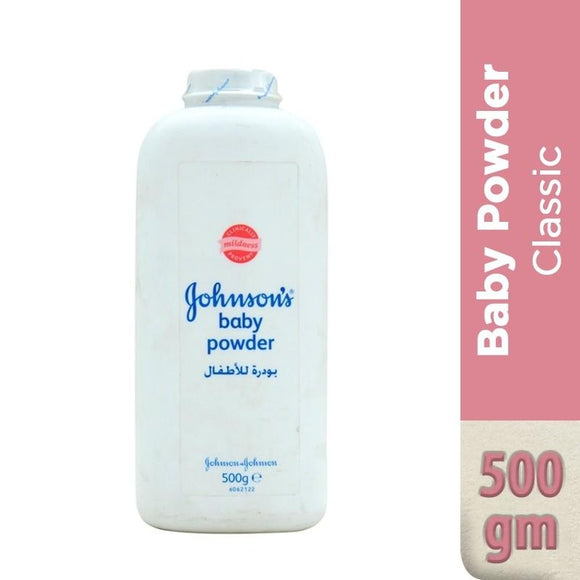 Johnson's Baby Powder 500gm (4611951296597)
