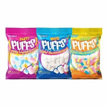 Candyland Puff Rainbow/Party/ Marshmallow 3 Packet 135*3 gram