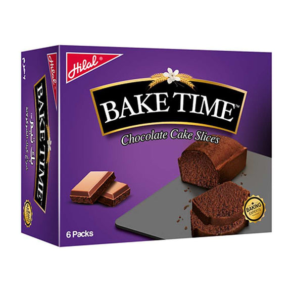Hilal Bake Time Chocolate Cake Slices 6 Packs 48g (4636470542421)