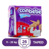 Canbebe Taped 11 To 25kg 26Pcs