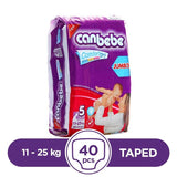 Canbebe Taped 11 To 25kg 42Pcs