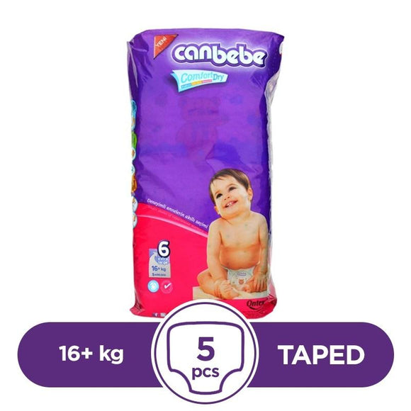Canbebe Taped 16+kg 5Pcs (4611911286869)