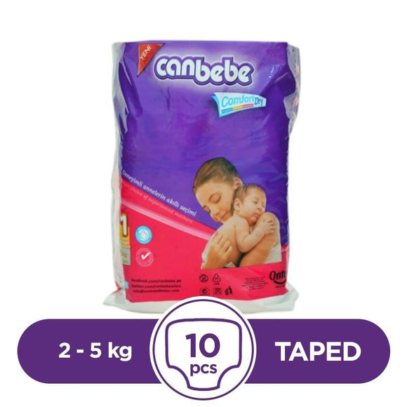 Canbebe Taped 2 To 5kg 10Pcs