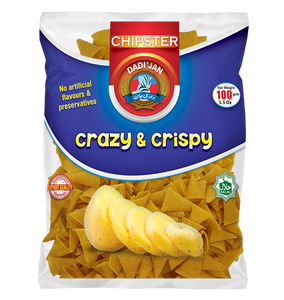 Dadi Jan Potato Chipster 100gm