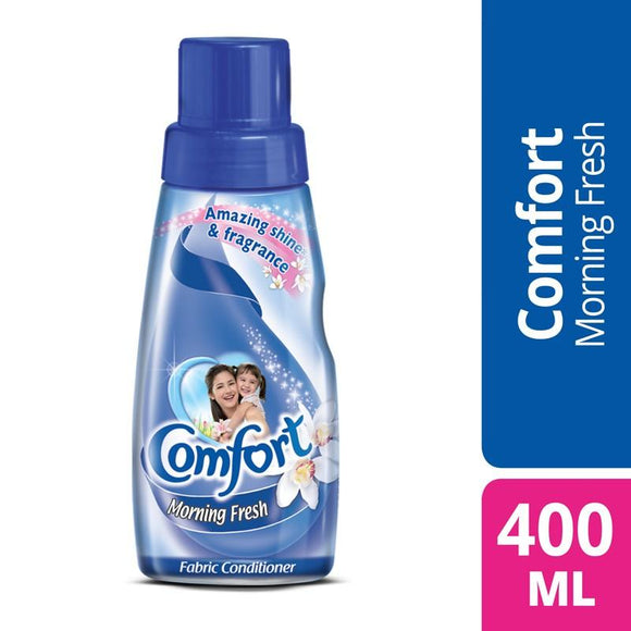 Comfort - Comfort Morning Fresh Fabric Conditioner Bottle Blue - 400ml (4611924295765)