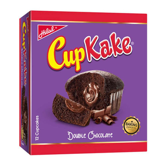 Hilal Cup Kake, Double Chocolate, 12 Pieces (4698636091477)