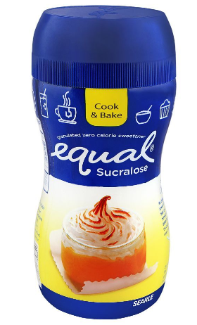 Equal Sucralose Granulated Zero Calorie Sweetener, Jar, 60g