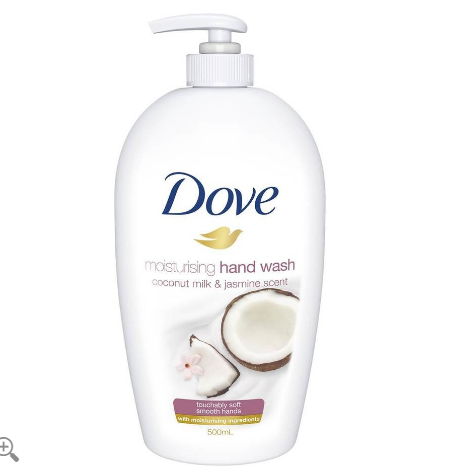 Dove Moisturising Hand Wash Coconut Milk & Jasmine 500ml