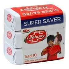 Lifebuoy - Lifebuoy Total 10 Soap - 146gm  pack of 3 (4611975839829)