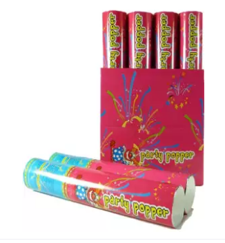 Confetti Cannon Shooter Party Popper 4 pcs (4624291364949)