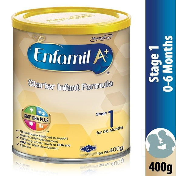 Enfamil - Enfamil A+ Stage 1 Powder Milk - 400gm