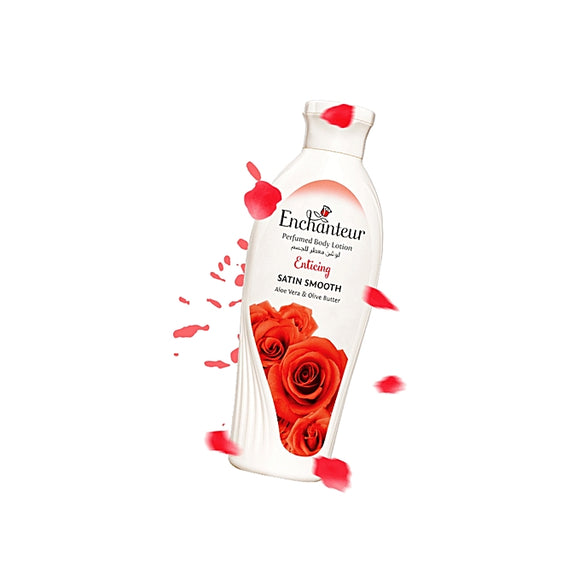 Enchanteur Enticing Satin Smooth Perfumed Body Lotion 250ml (4627707953237)