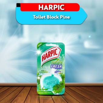 HARPIC Toilet Block Pine 40gm (4695242047573)