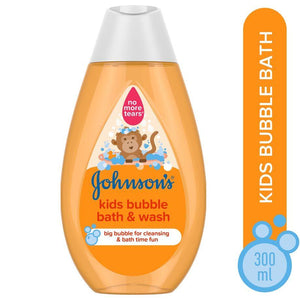 Johnson's Bath Kids Bubble Bath & Wash 300ML (4627768246357)