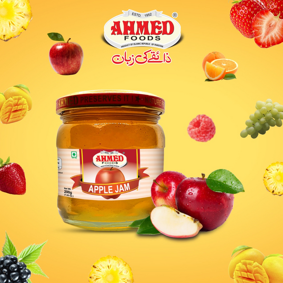 Ahmed Apple Jelly 200gm (4629604106325)
