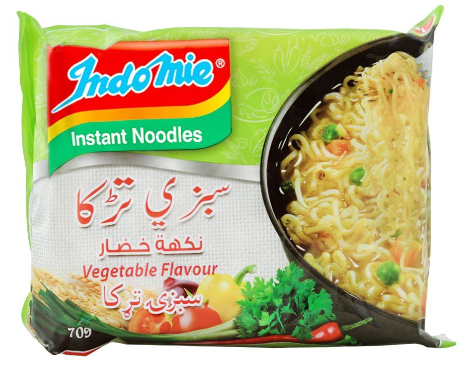 Indomie Vegetable Flavour Instant Noodles, 70g (4803113025621)
