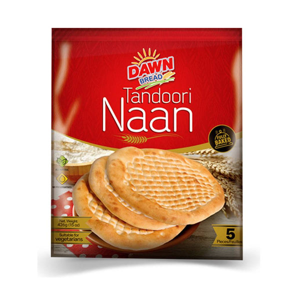 Dawn Tandoori Nan, 5 Pieces, 426g