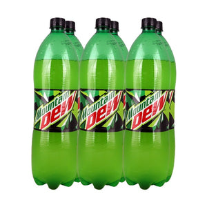 Pack of 6 Dew Bottle Soft drinks 1.5 liter (4629715353685)