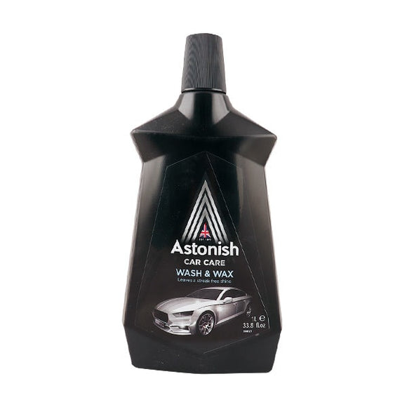 Astonish Car Care Wash And Wax 1Ltr