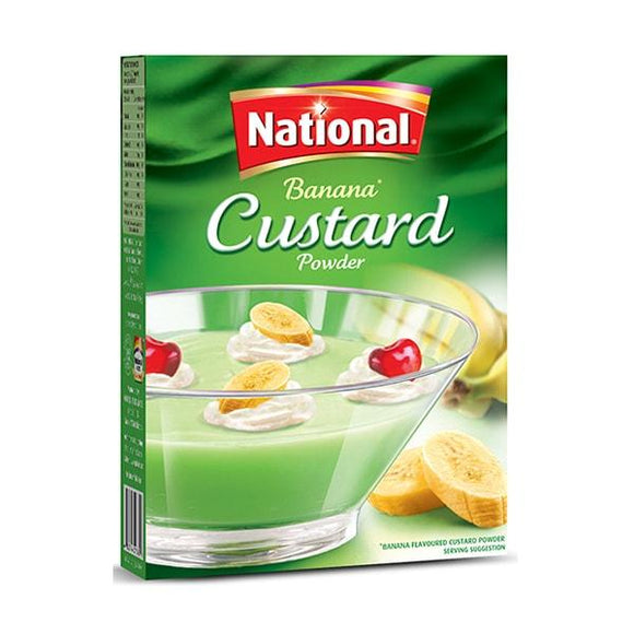 National Custard Powder Banana 275grm