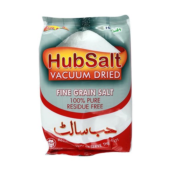 Hub Salt Fine Grain Red 800gm (4631167139925)