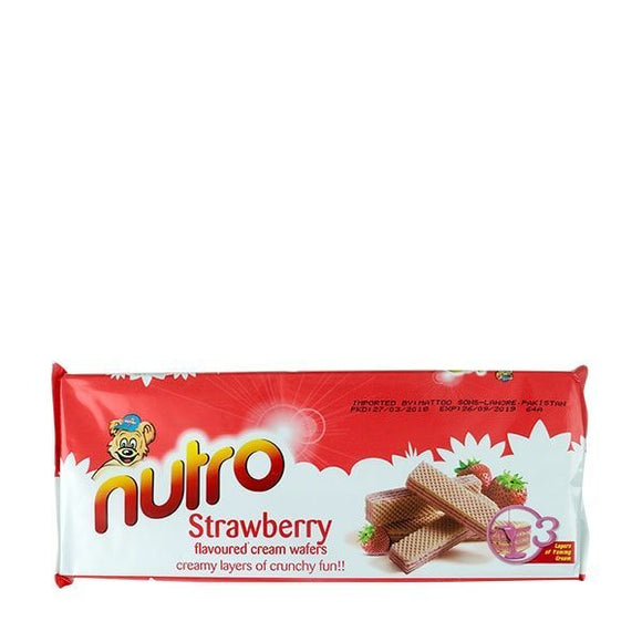 Nutro Strawberry Wafer 75gm (4634276233301)