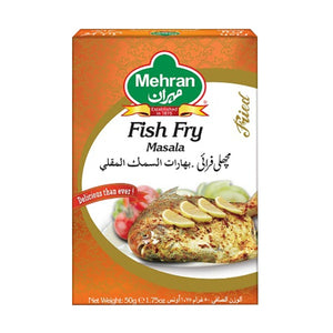 Mehran Fish Fry Masala 50gm (4649295315029)