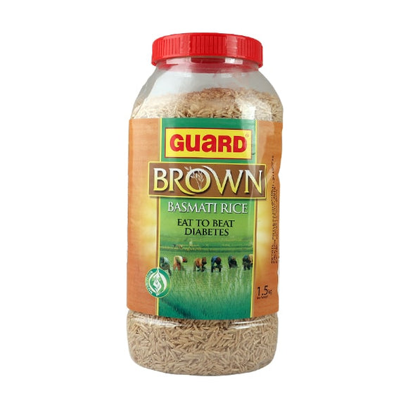 Guard Brown Basmati Rice 1.5kg (4717502038101)