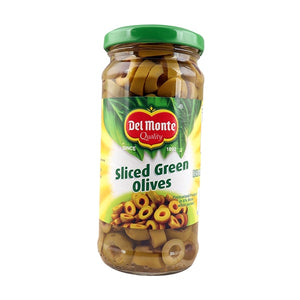 Del Monte Green Slices Olives 235gm (4632358092885)