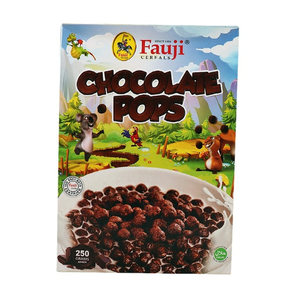 Fauji Chocolate Corn Pops 250gm (4625846042709)