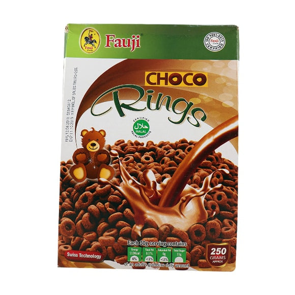 Fauji Chocolate Rings 250gm (4649186525269)