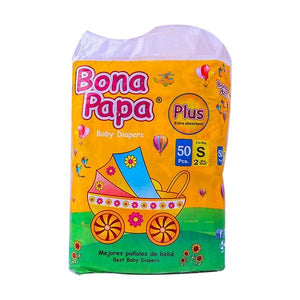 Bona Papa Baby Diapers Plus Small Mini 50 Pcs
