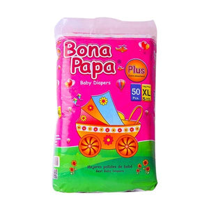 Bona Papa Baby Diapers Plus XL Juinor Size 50 Pcs