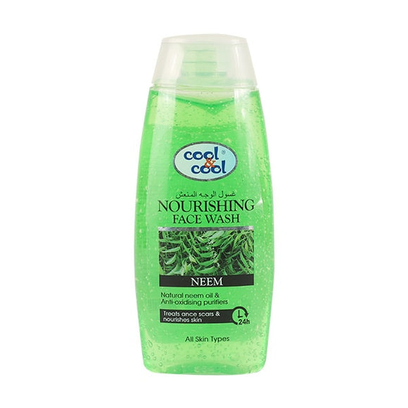 Cool & Cool Nourishing Face Wash 200ml (4628160348245)