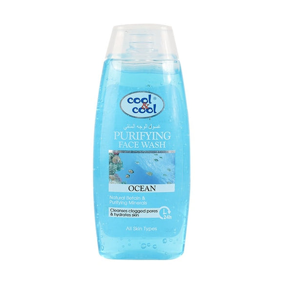 Cool & Cool Purifying Face Wash 200ml
