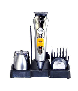 Kemei Rechargeable KM-580A 7 in 1 Mens Grooming Kit