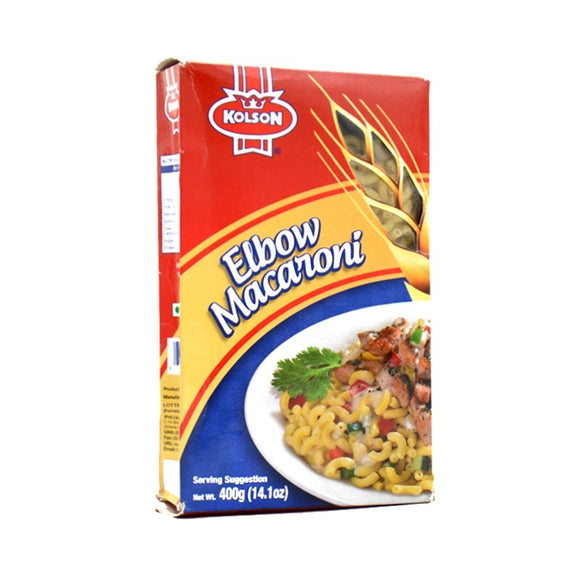 Kolson Elbow Macaroni 400gm (4629486993493)