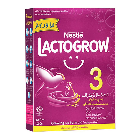 Nestle Lactogrow 3 400 GM (4735338971221)