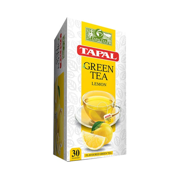 Tapal Green Tea Lemon Tea Bags Sabz Nimbu Ki Chai (Pack Of 30) (4611864002645)