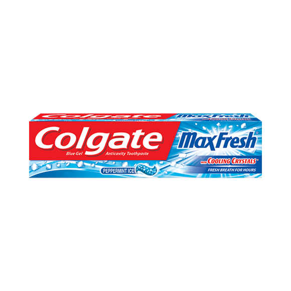 Colgate MaxFresh Peppermint Ice ToothPaste 75gm (4611952443477)