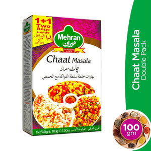 Mehran Chaat Masala Double Pack 100gm (4613045125205)