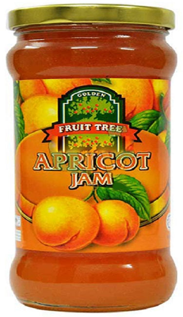 Fruit Tree Apricot  jam 440gm (4629651685461)